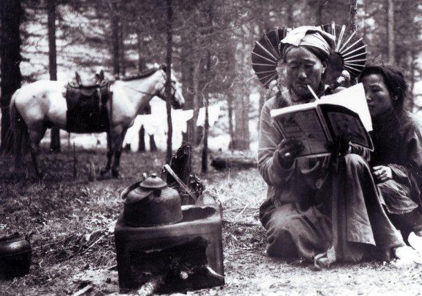 Two Mongolian women 1919